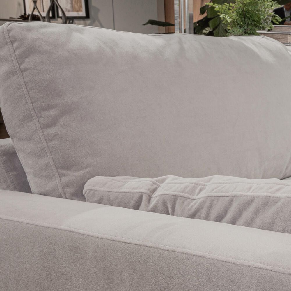Signature Design by Ashley Sophie 8-Piece U-Shaped Sectional in Cloud, , large