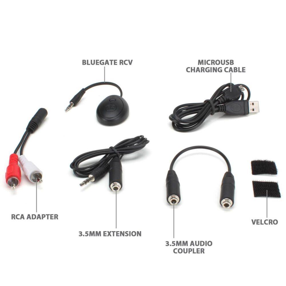 Go Groove BlueGATE RCV Bluetooth Audio Receiver, , large