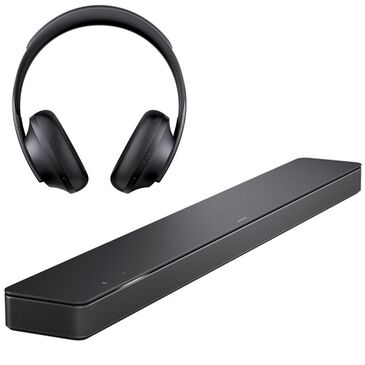 Bose Soundbar 500 with Noise Cancelling Headphones 700 in Black, , large