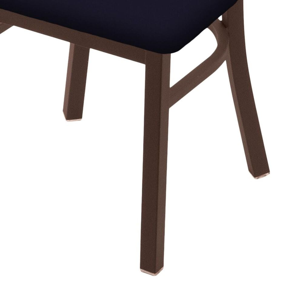 """Holland Bar Stool 620 Catalina 18"""" Chair with Bronze and Canter Twilight Seat, , large"""