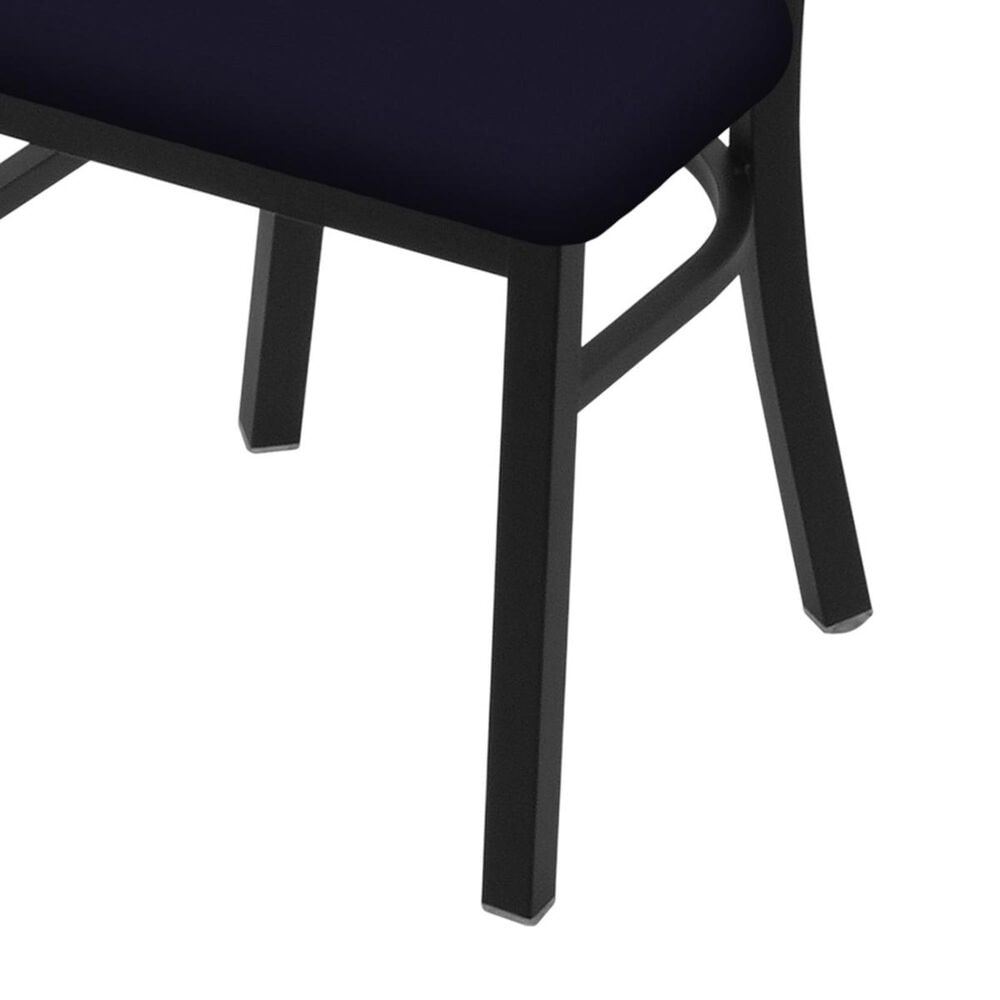 """Holland Bar Stool 620 Catalina 18"""" Chair with Black Wrinkle and Canter Twilight Seat, , large"""