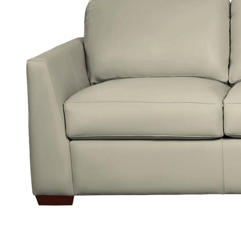 """Hickorycraft Leather 95"""" Sofa in Heroes, , large"""
