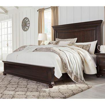 Signature Design by Ashley Brynhurst Queen Bed in Dark Brown, , large