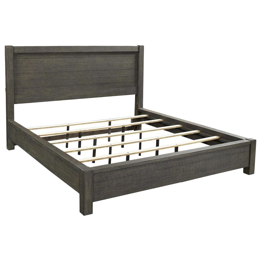 Riva Ridge Mill Creek 4 Piece California King Low Profile Bed Set in Carob, , large