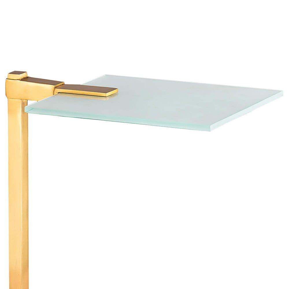 Carolina Chair and Table Remy Drink Table in Gold and Black, , large