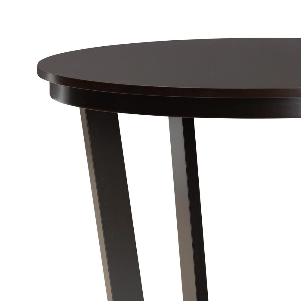 "Baxton Studio Alayna 35"" Dining Table in Dark Brown, , large"