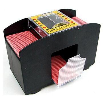 Timberlake 4 Deck Automatic Card Shuffler in Black, , large