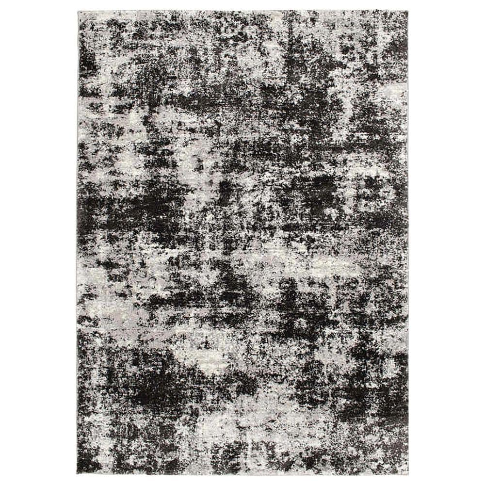 """Central Oriental Structures Torrent Winsley 6242SF 5' x 7'6"""" Soot and Buff Area Rug, , large"""