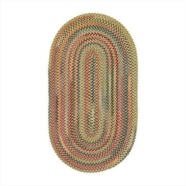 Capel Songbird 0103-150 8' x 11' Oval Gold Finch Area Rug, , large