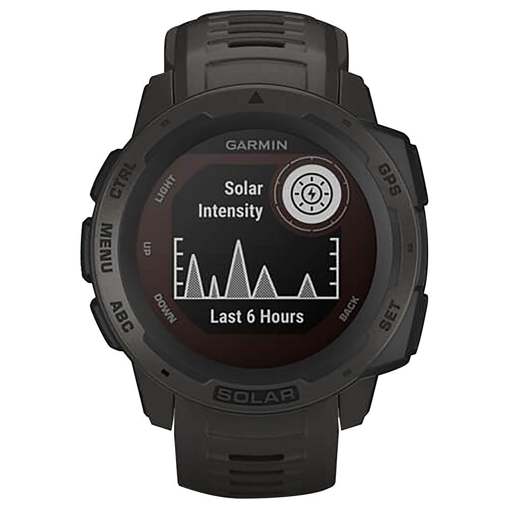 Garmin Instinct Solar Adventure Watch in Graphite, , large