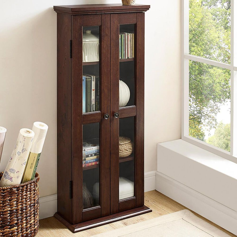 "Walker Edison 41"" Bookcase in Brown, , large"