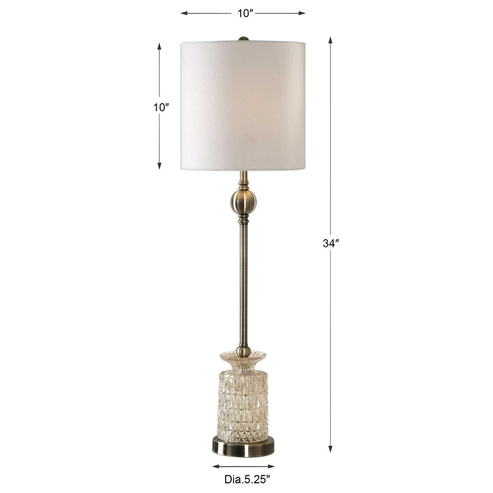 Uttermost Flaviana Buffet Lamp, , large