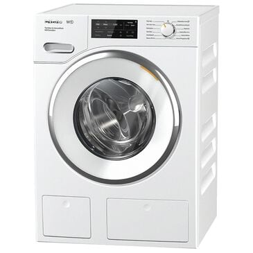 """Miele 24"""" Front Load Washer with TwinDos in White, , large"""