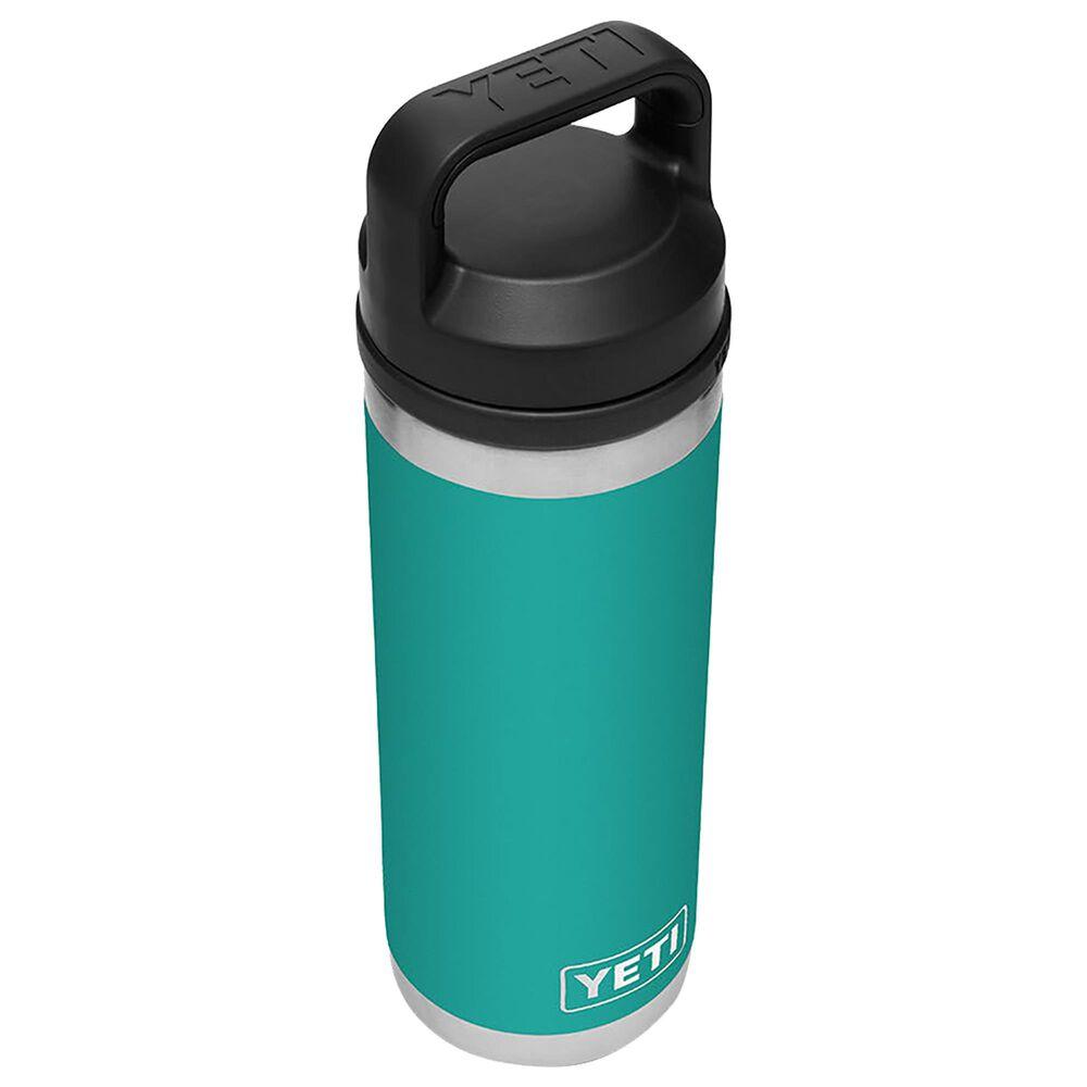 YETI Rambler 18 Oz Bottle with Chug Cap in Aquifer Blue, , large
