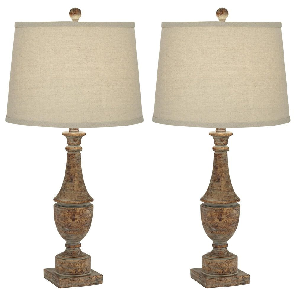 Pacific Coast Lighting Collier Table Lamp in Bronze and Aged Patina (Set of 2), , large