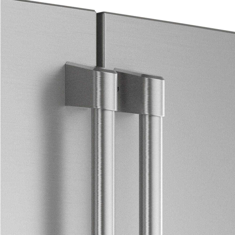 Cafe 27.8 Cu. Ft. Capacity 4-Door Smart French Door Refrigerator in Stainless Steel, Stainless Steel, large