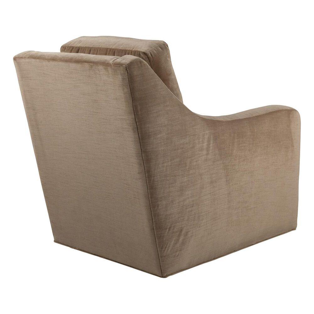 Rowe Furniture Swivel Chair in Earthtone Velvet, , large