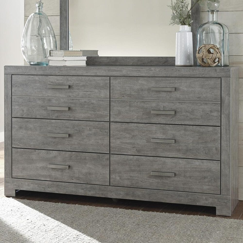 Signature Design by Ashley Culverbach 6 Drawer Dresser in Driftwood Gray, , large