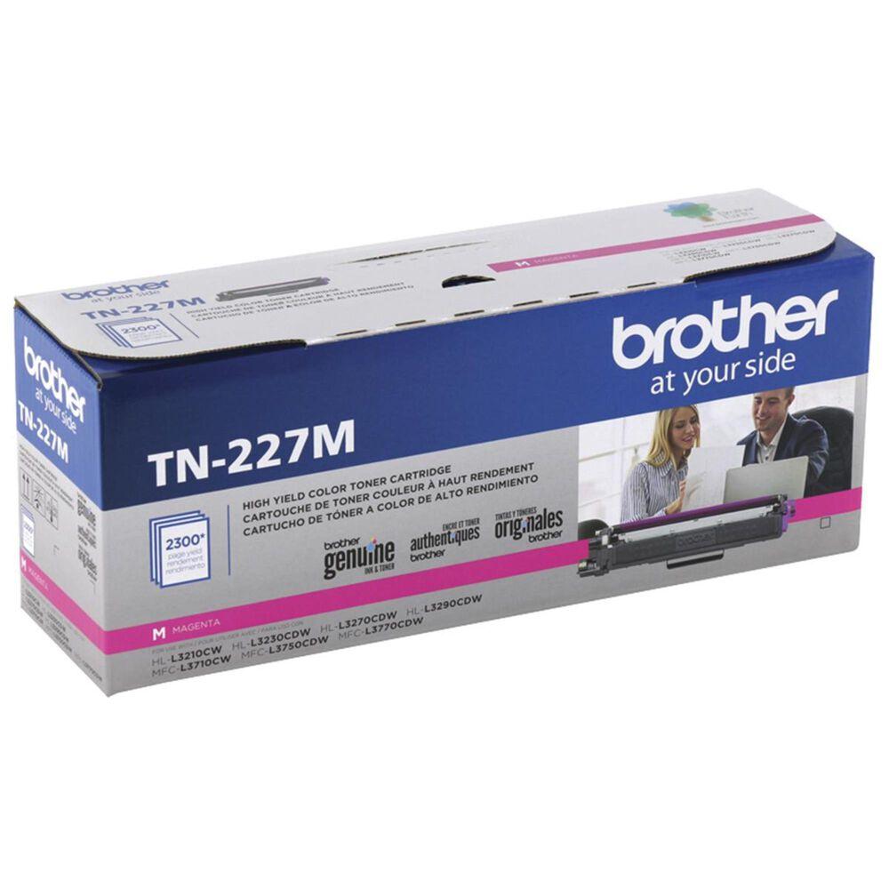 Brother TN227M High Yield Toner Cartridge in Magenta, , large
