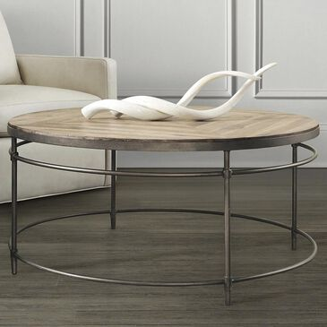 Hooker Furniture Saint Armand Round Cocktail Table, , large