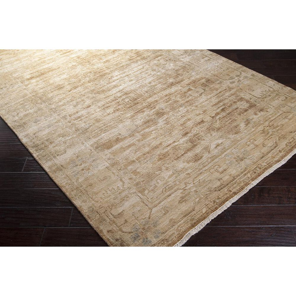 """Surya Hillcrest HIL-9012 7'9"""" x 9'9"""" Cream, Tan, Brown and Rust Area Rug, , large"""