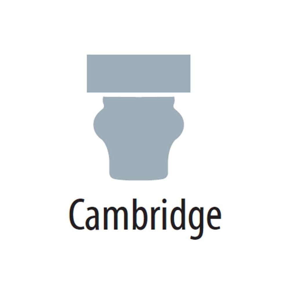 "Crosley Furniture Cambridge 60"" Low Profile TV Stand in Black, , large"