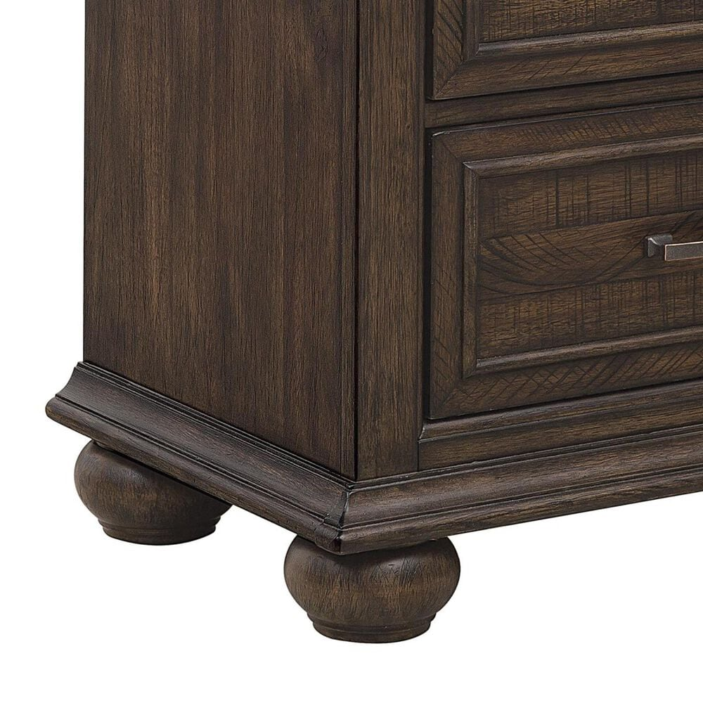 Samuel Lawrence Chatham Park 2 Drawer Nightstand in Chattered Tobacco, , large