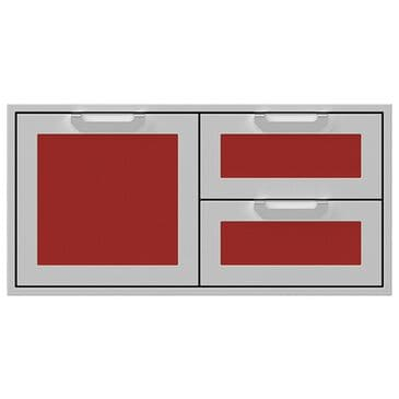 """Hestan 42"""" Double Drawer and Storage in Matador, , large"""