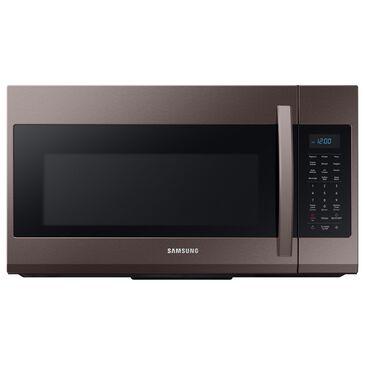 Samsung 1.9 Cu. Ft. Over The Range Microwave in Fingerprint Resistant Tuscan Stainless Steel, Slate, large