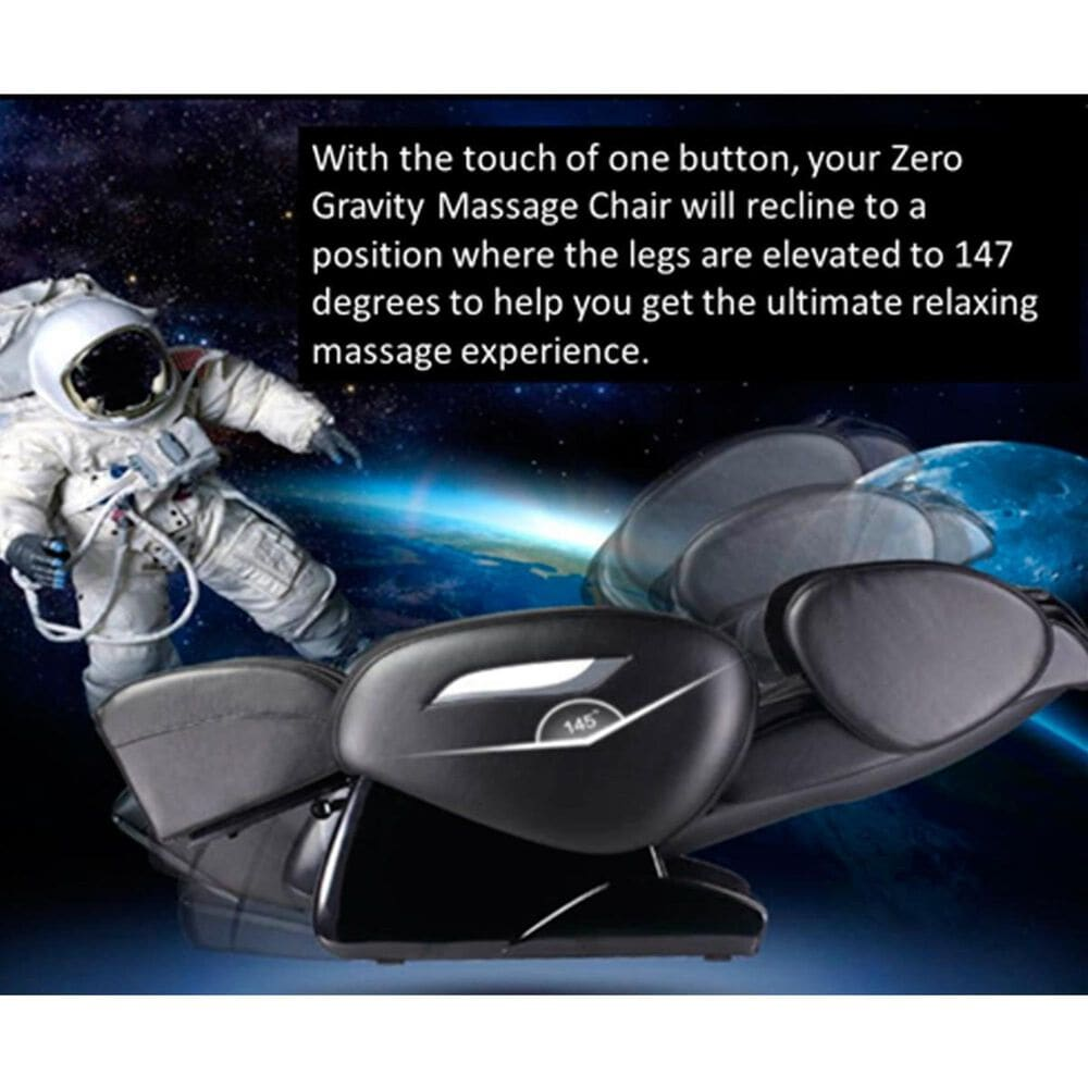 Best Massage Contemporary Zero Gravity Massage Chair in Brown, , large