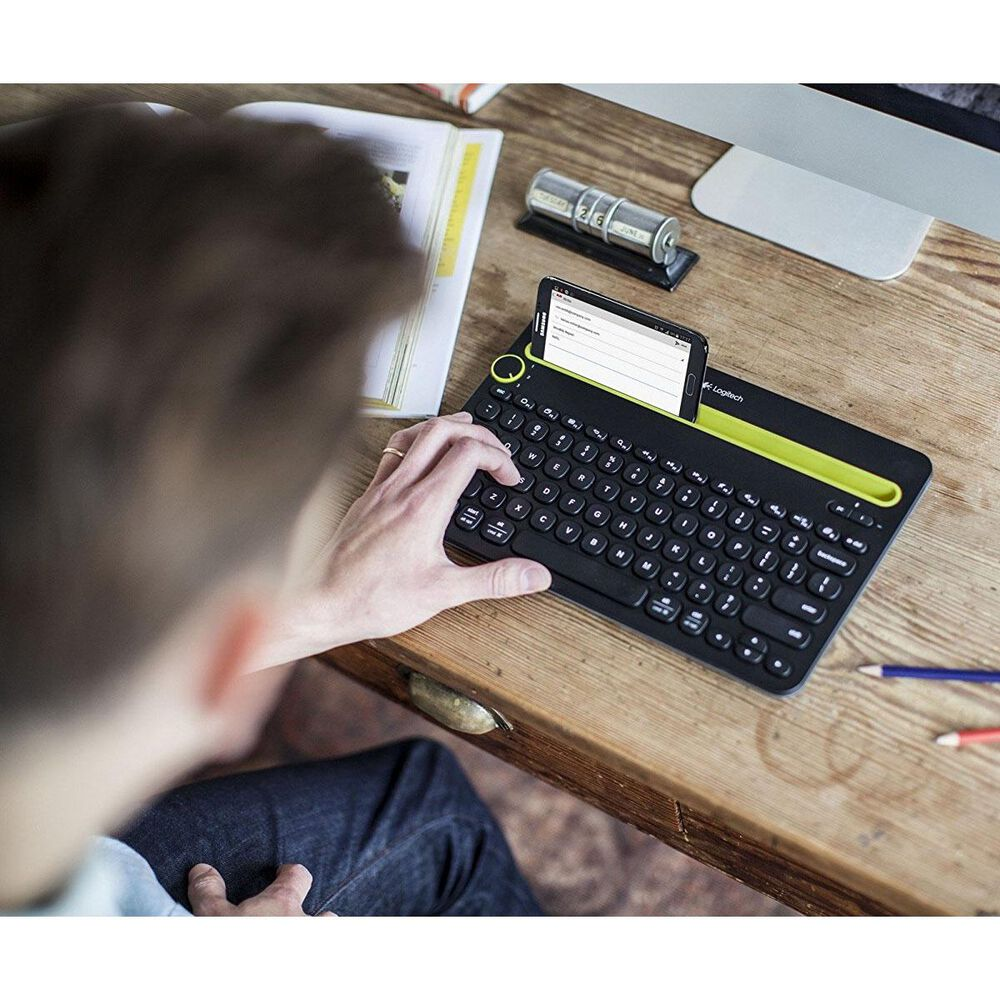 Logitech K480 Bluetooth Multi-Device Keyboard , , large