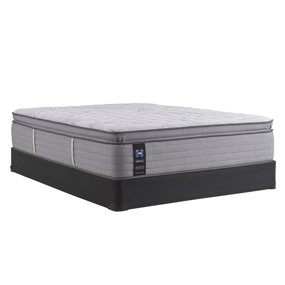 Sealy Spring Posturepedic Dantley Firm Euro Pillow Top Queen Mattress with Low Profile Box Spring, , large