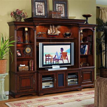 Hooker Furniture Brookhaven Console in Cherry, , large