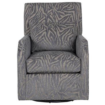 Huntington House Swivel Chair in Gray Zebra, , large