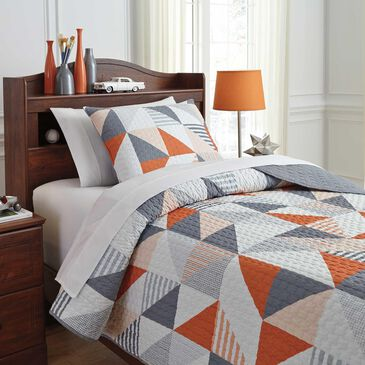 Signature Design by Ashley Layne 2-Piece Twin Coverlet, , large