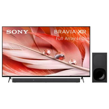 """Sony 65"""" Class 4K Smart LED UHD TV with 3.1 Channel Soundbar System in Black, , large"""