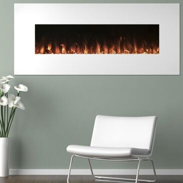 """Timberlake 50"""" Color Changing Fireplace in White, , large"""