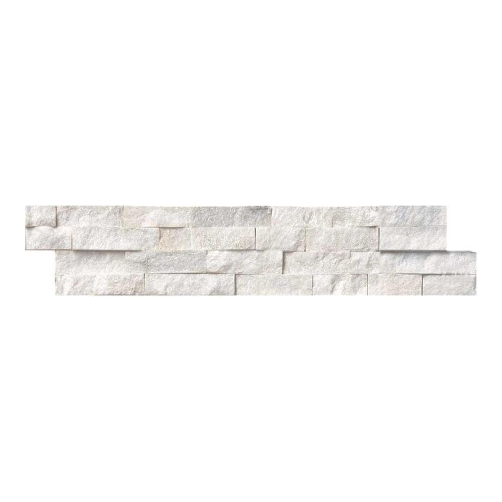 "MS International Arctic White 6"" x 24"" Ledger Panel, , large"