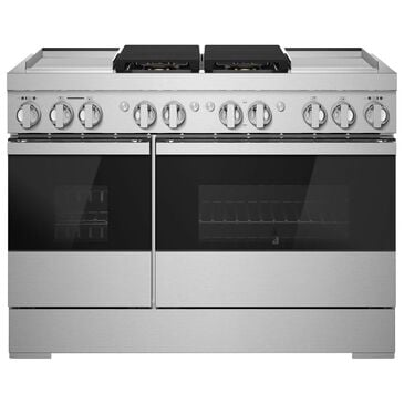 """Jenn-Air 48"""" Dual Fuel Professional Range in Stainless Steel, , large"""