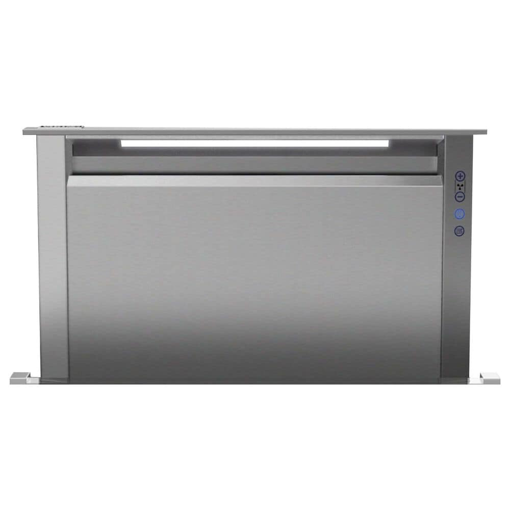 """Viking Range 36"""" Rear Downdraft with Controls on Front in Stainless Steel, , large"""