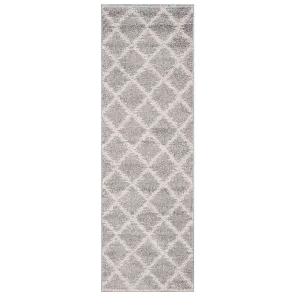 "Safavieh Adirondack ADR120B 2'6"" x 14' Silver and Ivory Runner, , large"