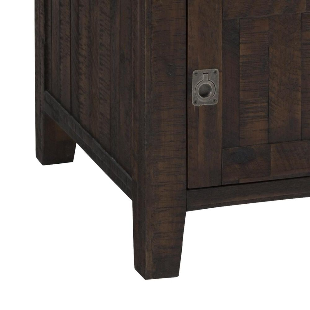 at HOME Kona Grove Chairside Table in Chocolate, , large