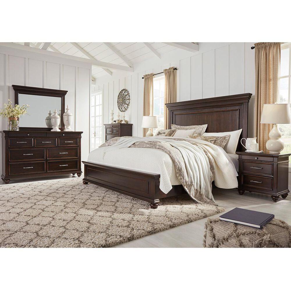 Signature Design by Ashley Brynhurst 4 Piece Queen Bedroom Set in Dark Brown, , large