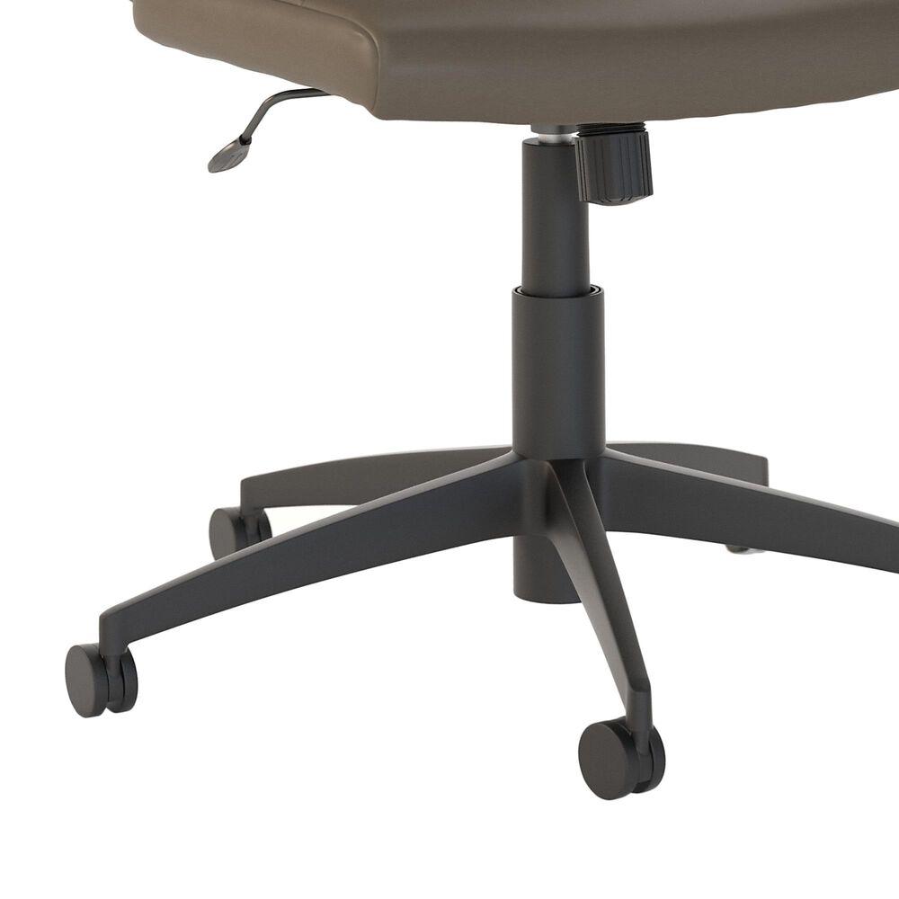 Bush Ironworks 2 Piece Office Desk Set in Restored Gray, , large