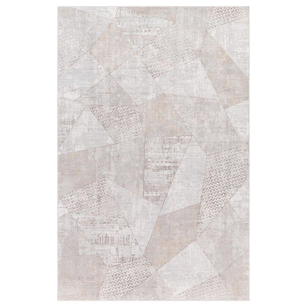 Surya Carmel 12' x 15' White, Ivory, Gray and Taupe Area Rug, , large