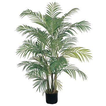 Nearly Natural Inc 4' Areca Silk Palm Tree, , large
