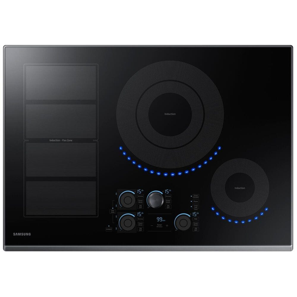 """Samsung 30"""" Induction Cooktop in Black Stainless Steel, , large"""