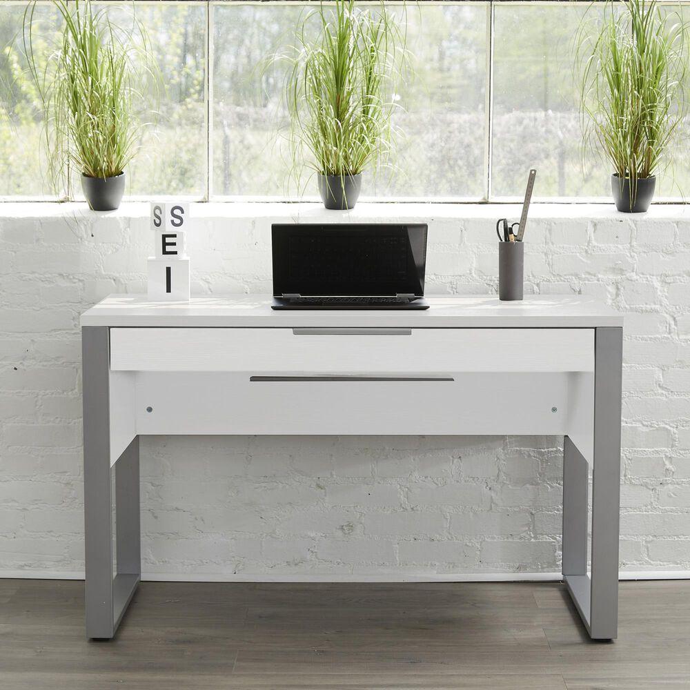 Unique Furniture Kalmar Home Desk in White, , large