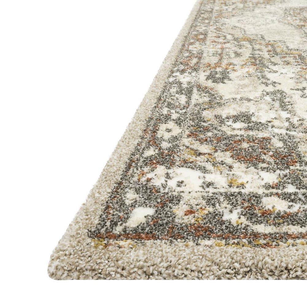 "Loloi Landscape LAN-01 2'2"" x 7'7"" Sand and Graphite Runner, , large"