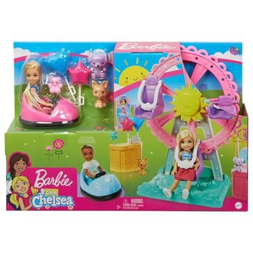 Barbie Club Chelsea Doll and Carnival Playset, , large